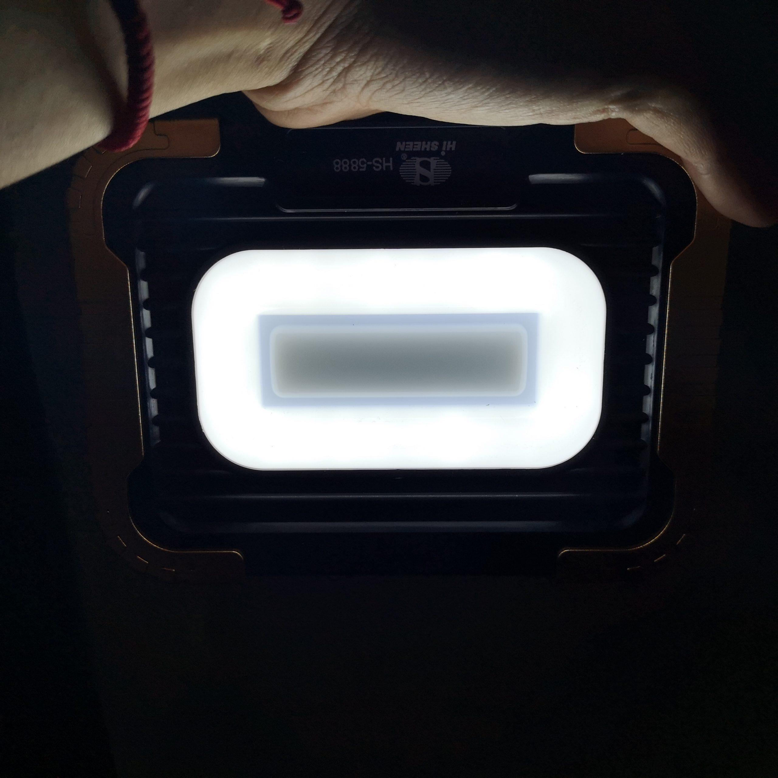 LED strålkastaren är räddaren i nöden